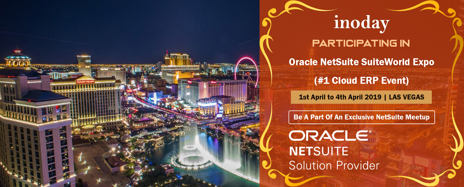 NetSuite SuiteWorld 2019, the industry's #1 Cloud ERP event of the year